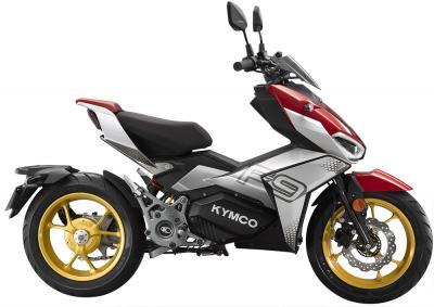 Kymco F9 2021, il nuovo scooter elettrico con il cambio