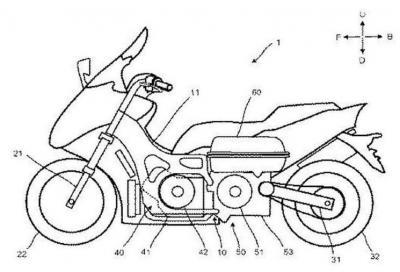 TMax ibrido, il brevetto lo anticipa