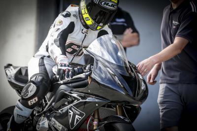 Triumph torna nel campionato supersport inglese