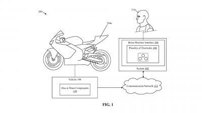 Nel futuro di Honda una moto che si guida col pensiero
