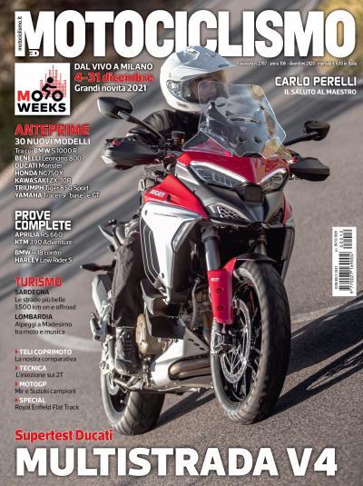 Motociclismo di dicembre 2020 è in edicola