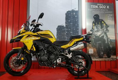 Motociclismo presenta la TRK 502 X