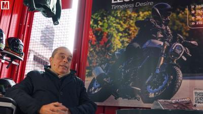 """Gianni Monini a MotoWeeks: """"Siamo al lavoro su una TRK di 800 cc"""""""