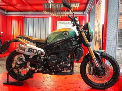 Motociclismo presenta la Leoncino 800 Trail