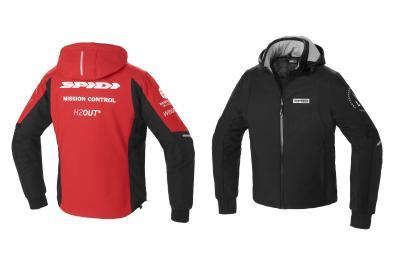 Spidi Hoodie Armor H2Out: sportiva e funzionale