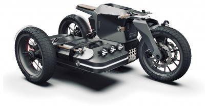 BMW ESMC, futuristico sidecar elettrico ispirato al passato