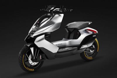Zeeho Cyber, il futuristico scooter elettrico di CF Moto