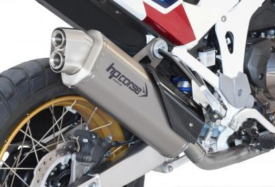 4-Track R e SPS Carbon, pensati da HP Corse per l'Africa Twin 1100