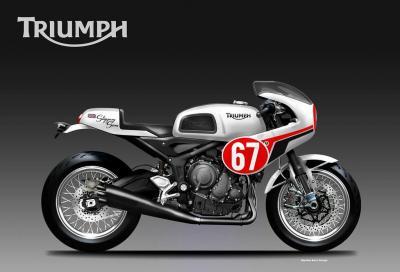 La Triumph Trident 660 si tuffa nel passato