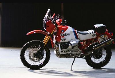 BMW Dakar GS, nata per il deserto
