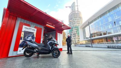 Yamaha a MotoWeeks