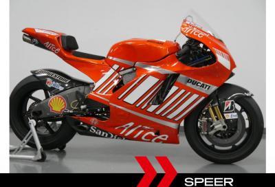 In vendita la Ducati Desmosedici GP8 di Stoner