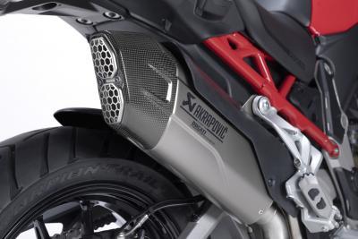 Ducati e Akrapovič insieme per aumentare le performance della Multistrada V4