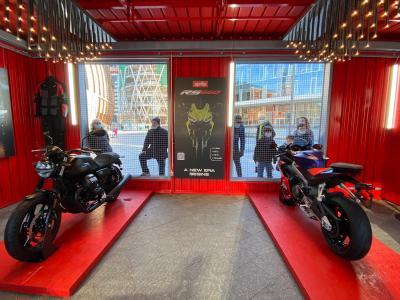 Aprilia, Moto Guzzi, Vespa e Piaggio a MotoWeeks