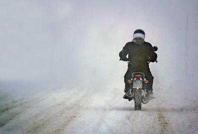 Multe per chi circola sulla neve!