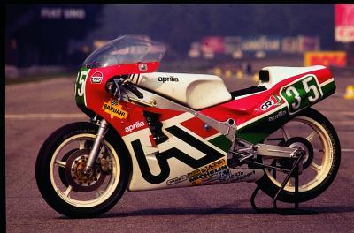 Aprilia 250 GP, la storia