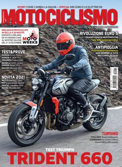 Motociclismo di gennaio 2021 è in edicola