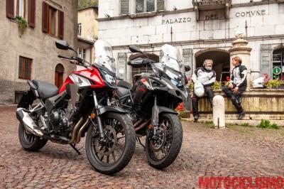 La sfida dell'anno: Benelli TRK 502 X vs Honda CB500X