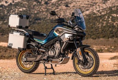MT800: ecco la versione definitiva della CF Moto – KTM