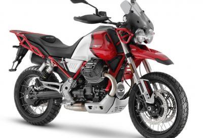 Moto Guzzi aggiorna la V85 TT, ecco la versione 2021
