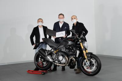 Traguardo Ducati Monster: venduto l'esemplare n° 350.000
