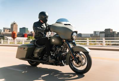Harley-Davidson aggiorna Cruiser, Touring e CVO