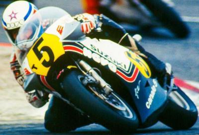 Classe 500, 1981. La stella di Lucchinelli brilla con Suzuki