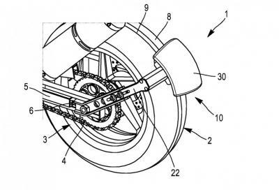 """Michelin brevetta la """"retromarcia"""" per le moto"""