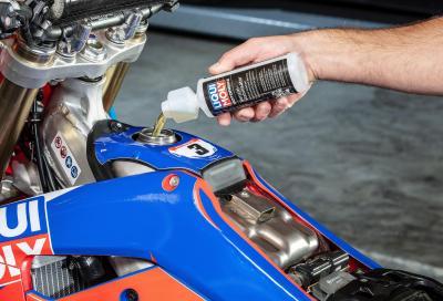 Liqui Moly Motorbike Benzin-stabilisator, l'additivo per l'inverno