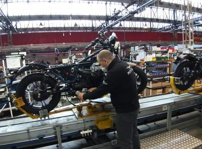 La nazionalità delle moto