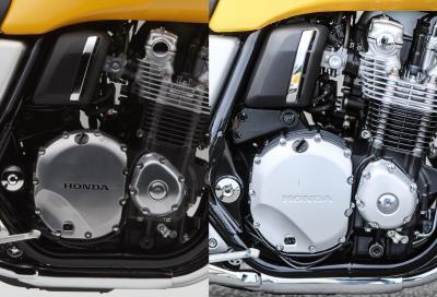 """""""Honda 'bara' sui carter della CB1100"""""""