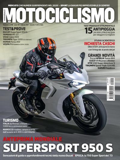 Motociclismo di febbraio 2021 è in edicola