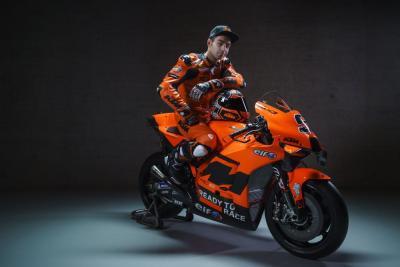 Petrucci svela la sua nuova KTM RC16