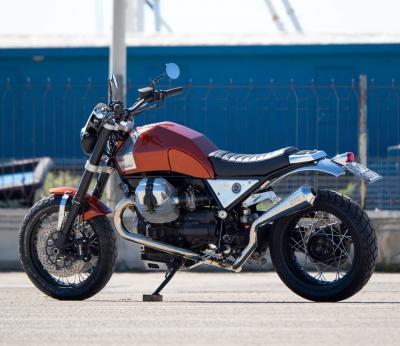 Moto Guzzi Hadria, moderna urban scrambler