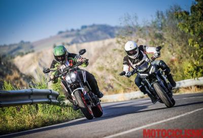 KTM 890 Duke R vs Triumph Street Triple RS