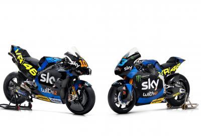 Lo Sky Racing Team VR46 svela la MotoGP e le Moto2 2021