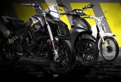 Nasce Motron: in gamma ci sono moto, scooter e veicoli elettrici