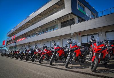 Ducati Riding Academy 2021, aperte le iscrizioni