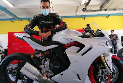 Ducati SuperSport 950 S 2021: il test in pista