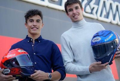 Shoei e i fratelli Marquez insieme per i prossimi 4 anni