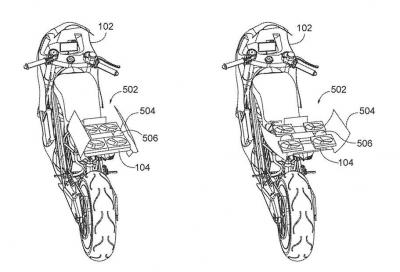 Un drone nella coda della moto? Ci ha pensato Honda