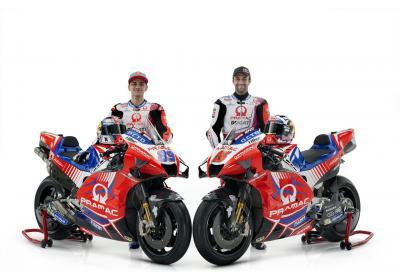 Zarco e Martin svelano la Desmosedici GP di Pramac Racing