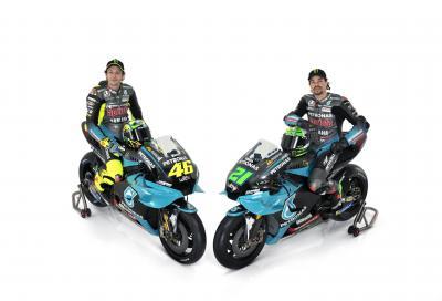 Yamaha Petronas: ecco le M1 di Rossi e Morbidelli