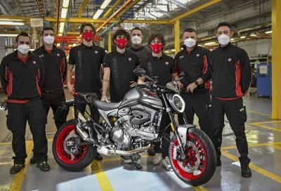 Iniziata la produzione della nuova Ducati Monster