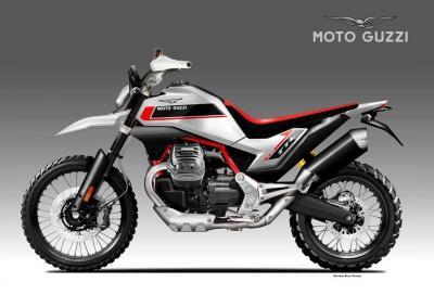 Moto Guzzi V90 TTL, la Tutto Terreno Leggera