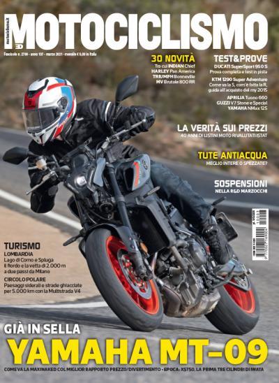 Motociclismo di marzo 2021 è in edicola