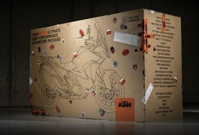 KTM Dealer Unboxing, per conoscere la 1290 Super Adventure S 2021