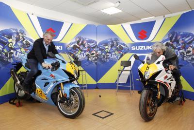 Suzuki consegna a Uncini e Lucchinelli le GSX-R1000R Legend Edition
