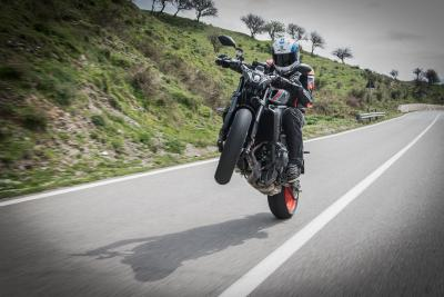 Il test della nuova Yamaha MT-09