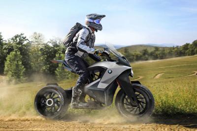 BMW D-05T, futuristica adventure bike